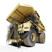 ağır kamyon madencilik kamyon 3d model