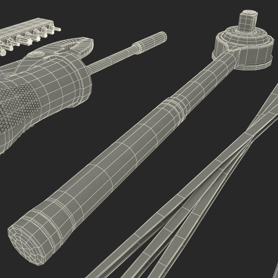 Precision Tools Set royalty-free 3d model - Preview no. 43