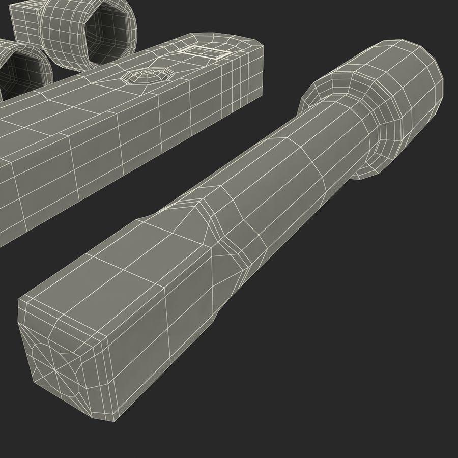 Precision Tools Set royalty-free 3d model - Preview no. 46