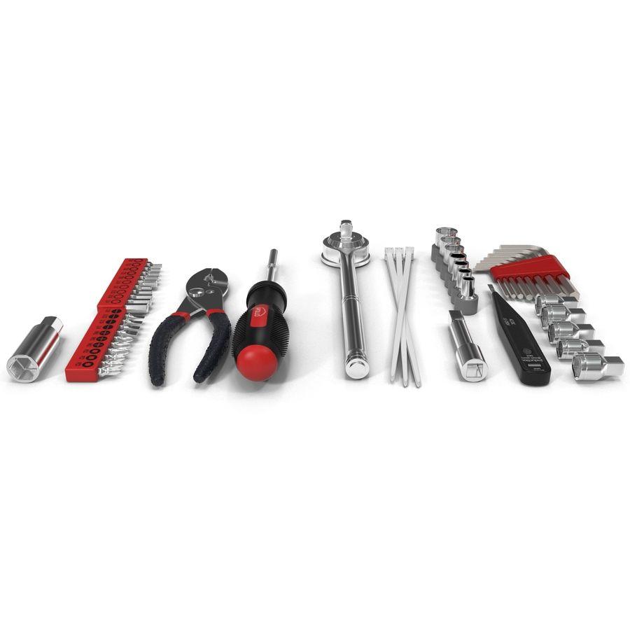 Precision Tools Set royalty-free 3d model - Preview no. 3