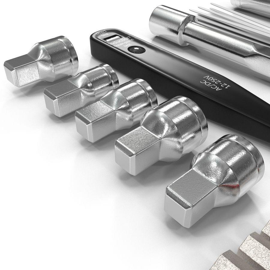 Precision Tools Set royalty-free 3d model - Preview no. 26