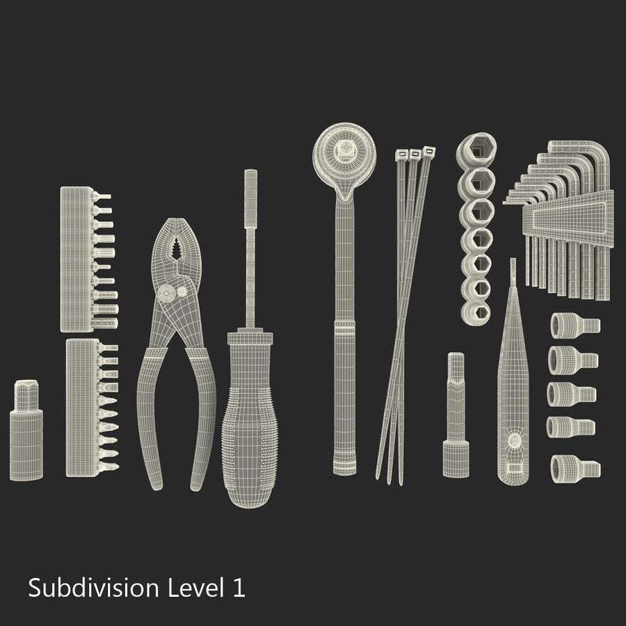 Precision Tools Set royalty-free 3d model - Preview no. 55