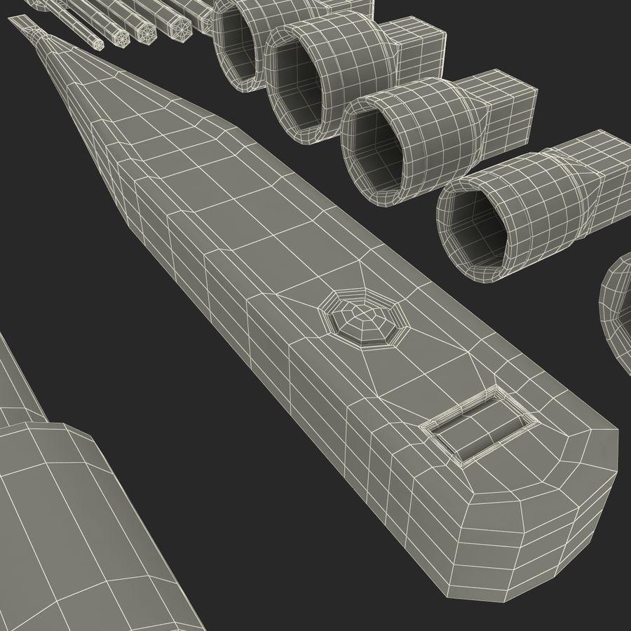 Precision Tools Set royalty-free 3d model - Preview no. 52