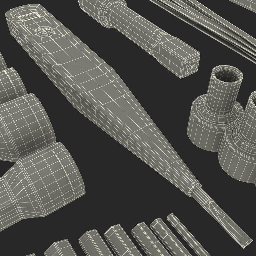 Precision Tools Set royalty-free 3d model - Preview no. 53