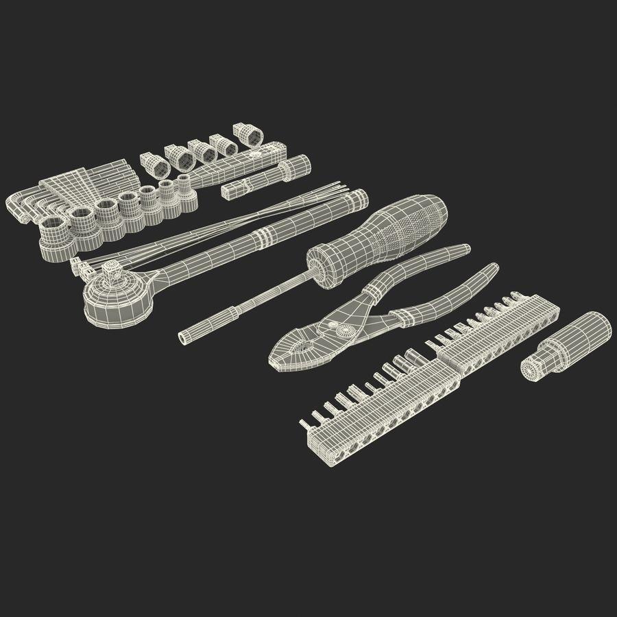 Precision Tools Set royalty-free 3d model - Preview no. 35