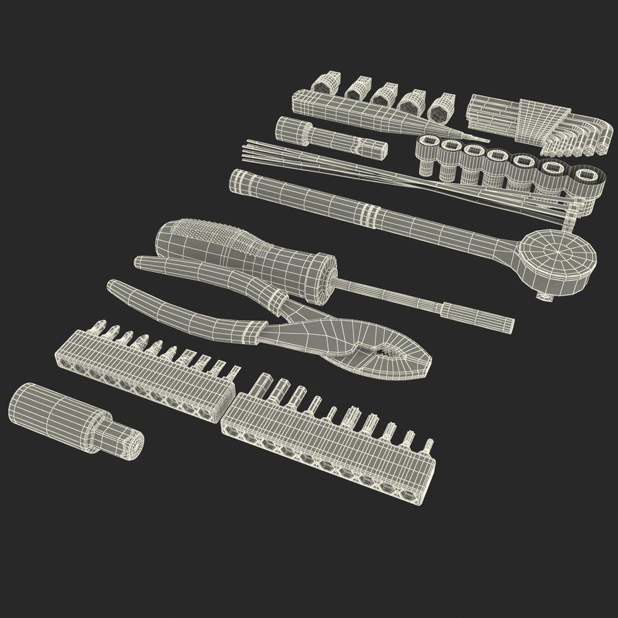 Precision Tools Set royalty-free 3d model - Preview no. 33