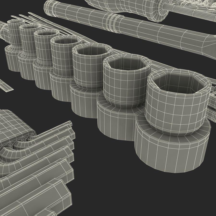 Precision Tools Set royalty-free 3d model - Preview no. 49