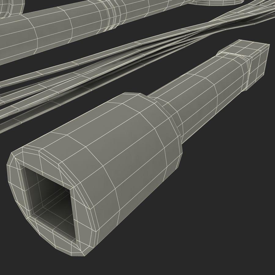 Precision Tools Set royalty-free 3d model - Preview no. 45