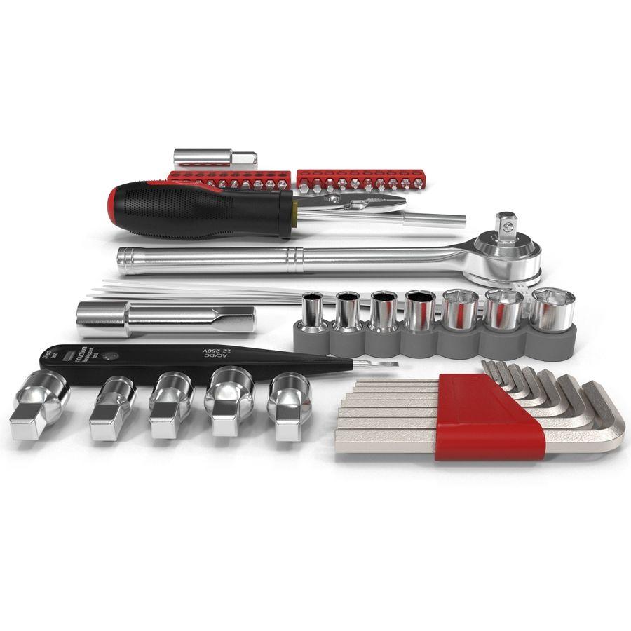 Precision Tools Set royalty-free 3d model - Preview no. 4