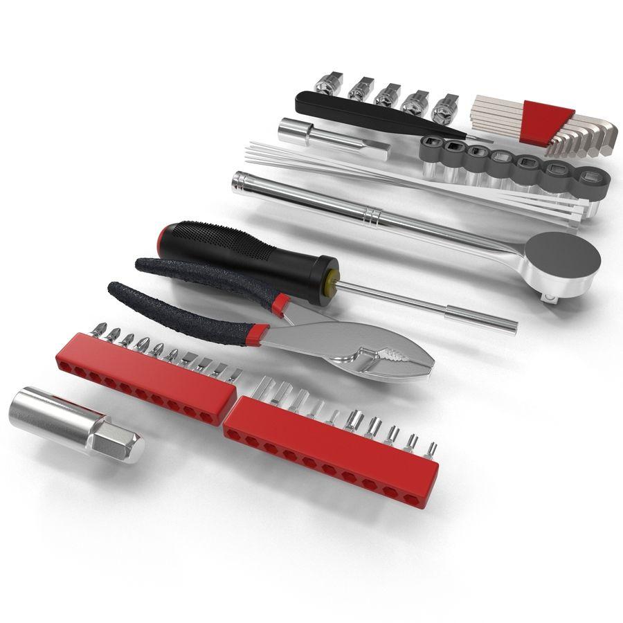 Precision Tools Set royalty-free 3d model - Preview no. 9