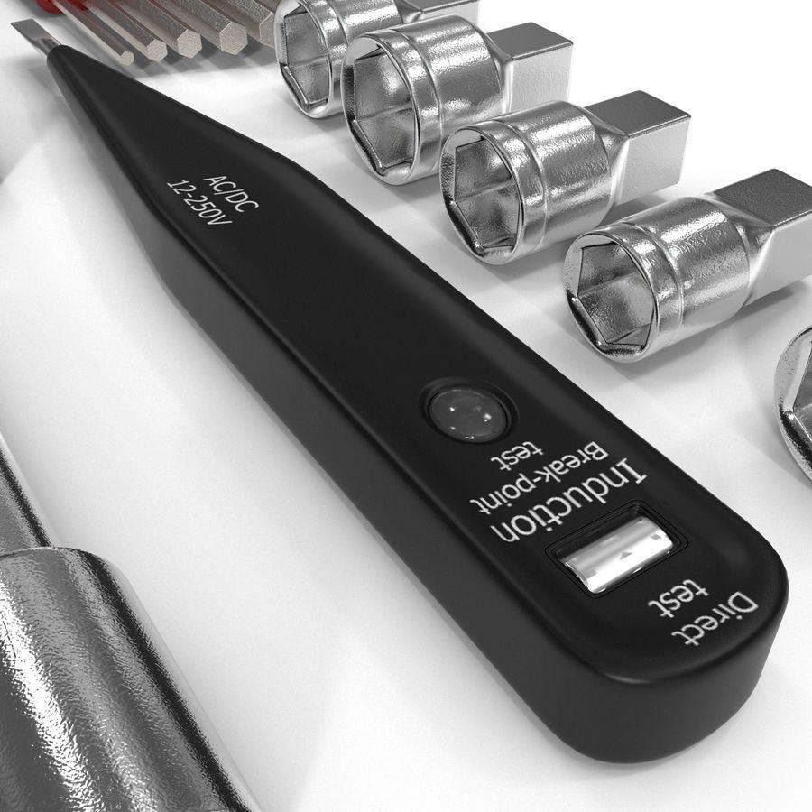 Precision Tools Set royalty-free 3d model - Preview no. 28