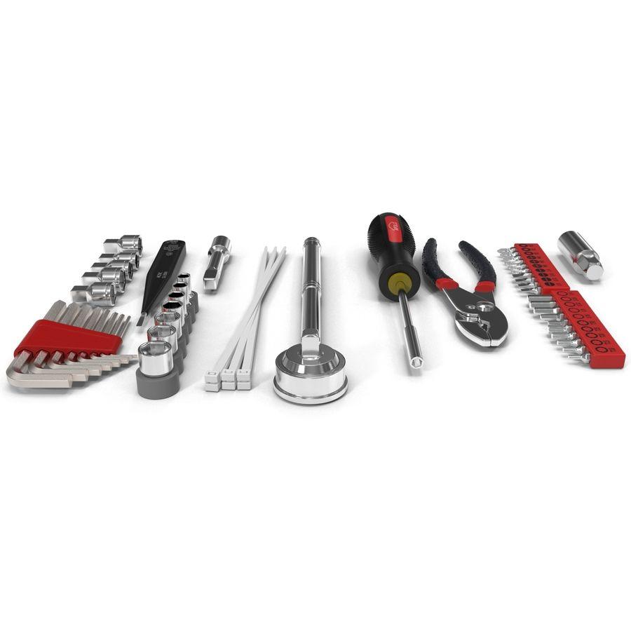 Precision Tools Set royalty-free 3d model - Preview no. 5