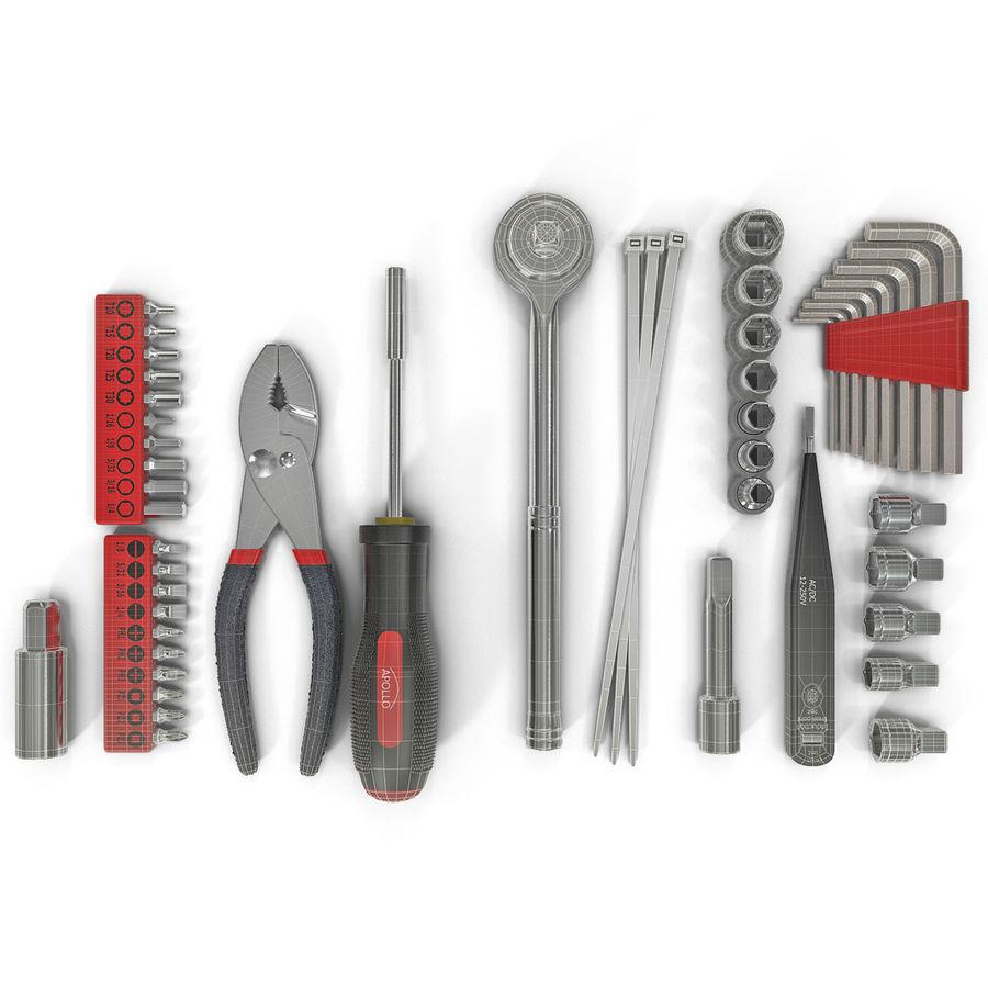 Precision Tools Set royalty-free 3d model - Preview no. 30