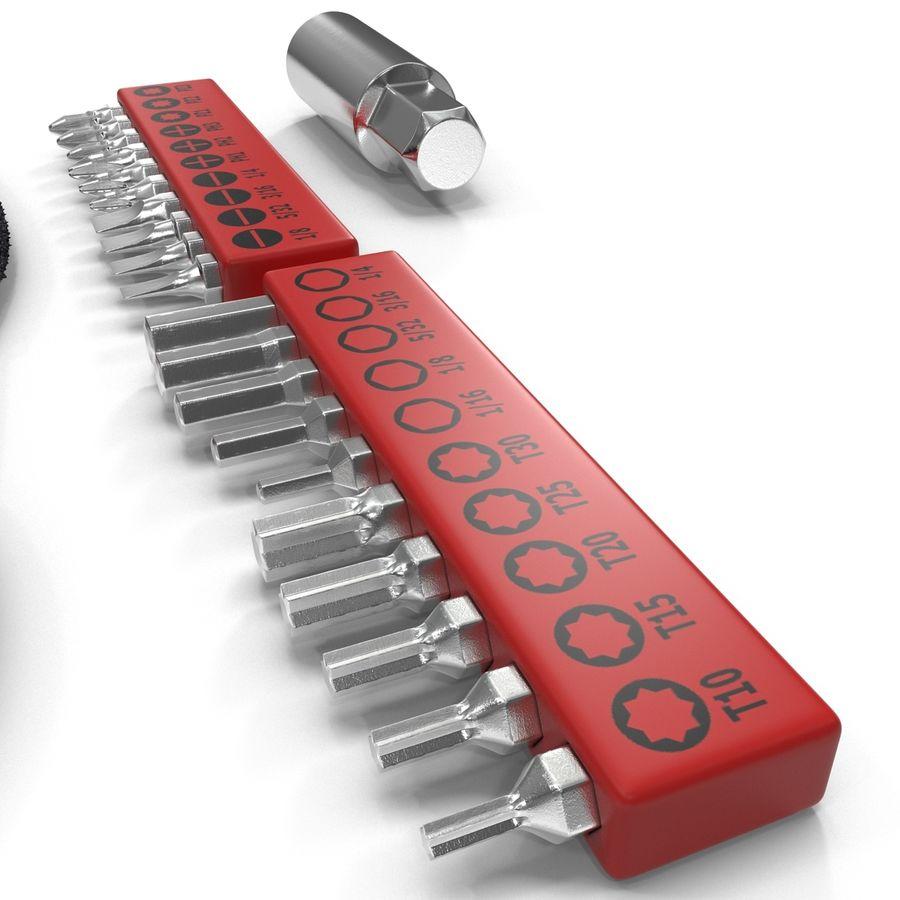 Precision Tools Set royalty-free 3d model - Preview no. 13