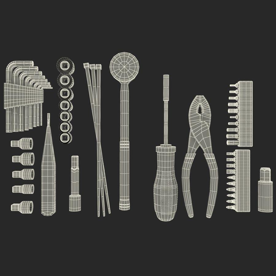 Precision Tools Set royalty-free 3d model - Preview no. 31