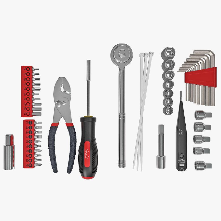 Precision Tools Set royalty-free 3d model - Preview no. 1