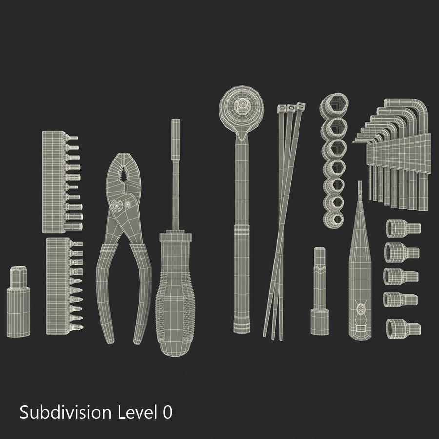 Precision Tools Set royalty-free 3d model - Preview no. 54