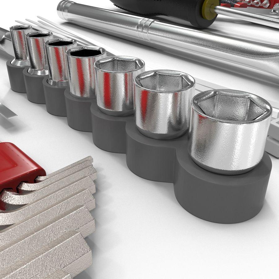 Precision Tools Set royalty-free 3d model - Preview no. 25