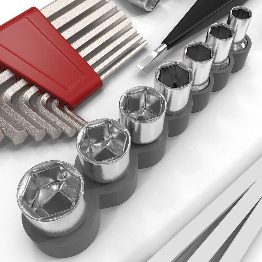 Precision Tools Set royalty-free 3d model - Preview no. 23