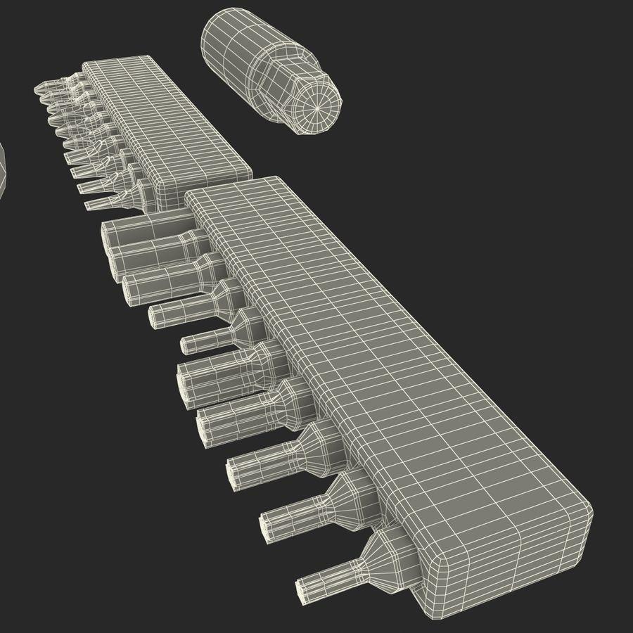 Precision Tools Set royalty-free 3d model - Preview no. 37