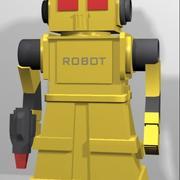 Робот Той 3d model