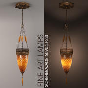 LAMPY FINE ART SHEHERAZADE 609040-2ST 3d model