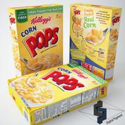 Corn Pops Kelloggs 3d model