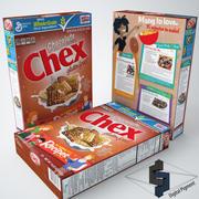 Chex choklad spannmål 3d model