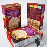 Patate All'aglio Arrosto 3d model