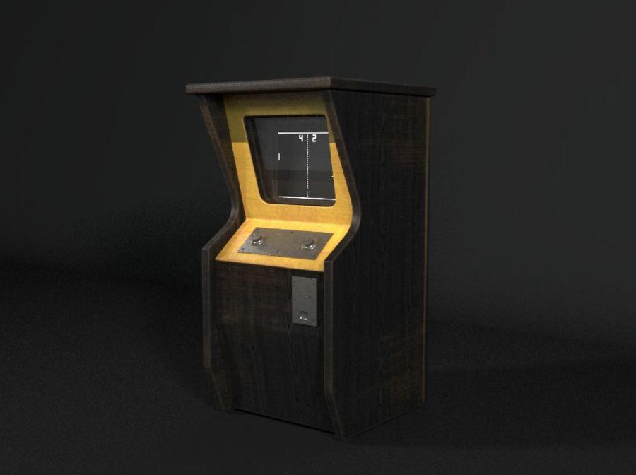 TV-spel royalty-free 3d model - Preview no. 2