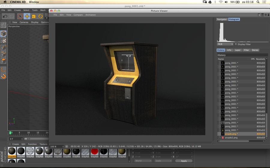 TV-spel royalty-free 3d model - Preview no. 6