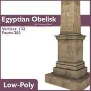 Egyptian Obelisk 3d model