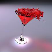 Martini goblet 3d model