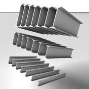 Haz de metal IPN modelo 3d