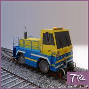 LOCOMOTIVE TRACTOR 3d model