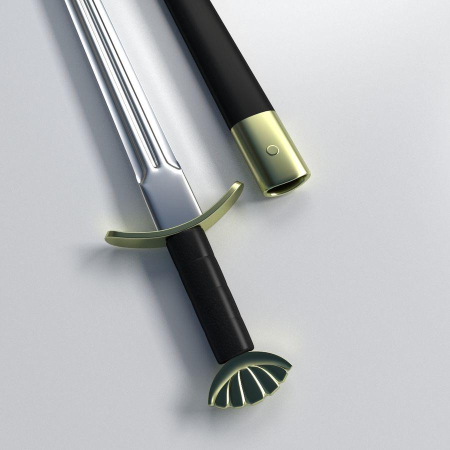 Viking Kılıcı royalty-free 3d model - Preview no. 2