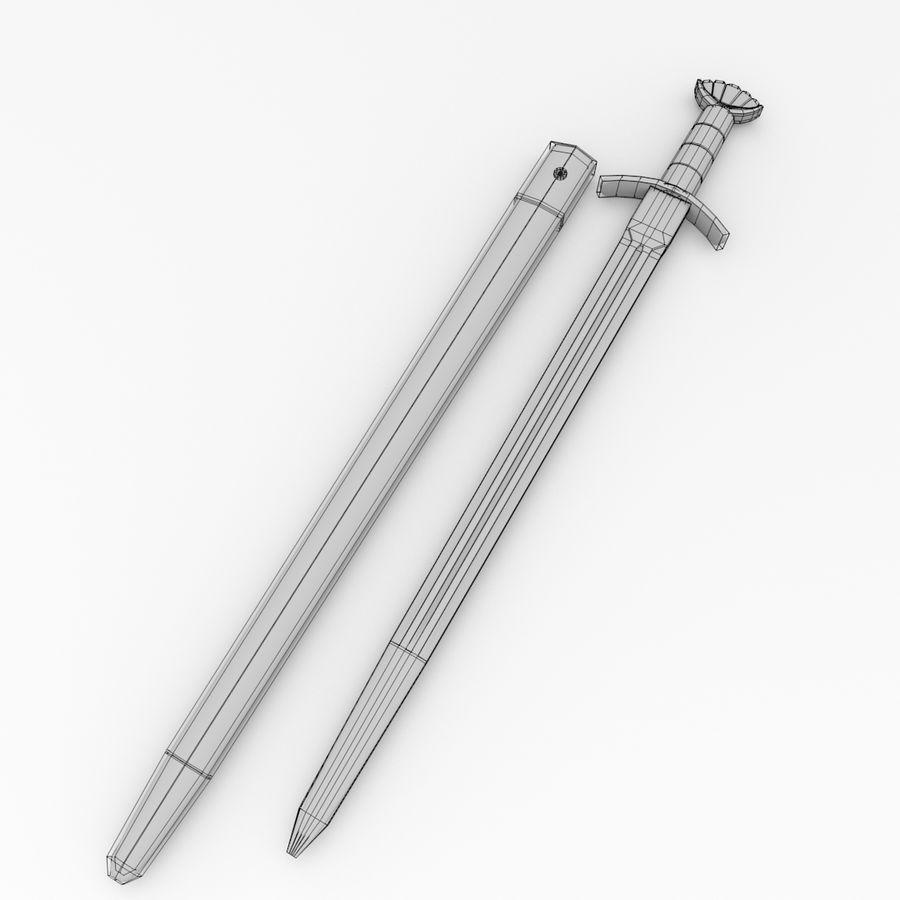 Viking Kılıcı royalty-free 3d model - Preview no. 5