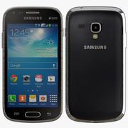 Samsung Galaxy S Duos 2 S7582 Black 3d model