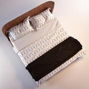 B&B Bed ALYS 3d model