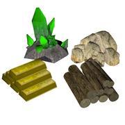 Pacchetto di risorse 3d model