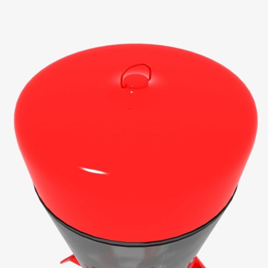 Mangiatoia per uccelli ronzio royalty-free 3d model - Preview no. 11