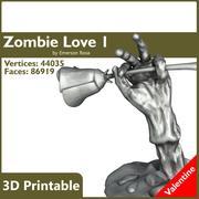 Valentine 3D Yazdırılabilir - Zombi Eli 01 3d model