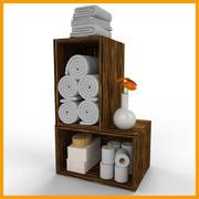 Badezimmermöbel 3d model