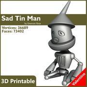 Valentine 3D Yazdırılabilir - Sad Tin Man 3d model