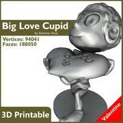 バレンタイン3Dプリント可能-大きな愛 3d model