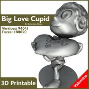 Valentine 3D do druku - wielka miłość 3d model