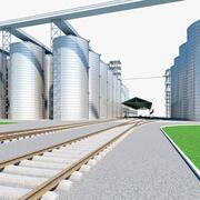 Grain Terminal 2 3d model