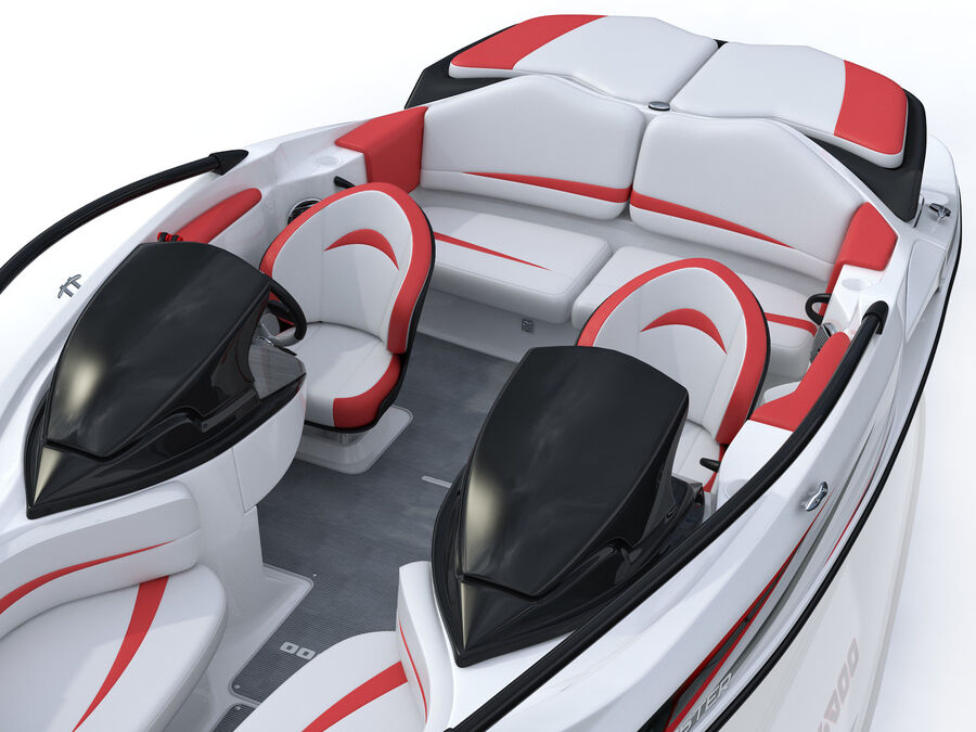 SEA-DOO Speedster 200 and trailer royalty-free 3d model - Preview no. 28