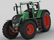 Fendt 900 Vario 3d model