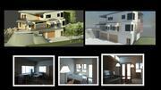 住宅用建物(1) 3d model